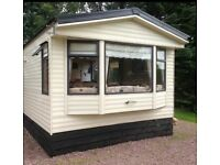 HOLIDAY LET. Modern 3 Bedroom static Caravan for let just outside of Inverness.