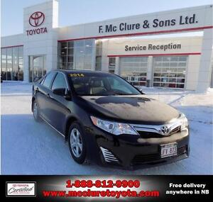 2014 Toyota Camry LE with mags