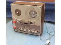 Truvox Classic Reel to Reel Tape Recorder & 20+ tapes.