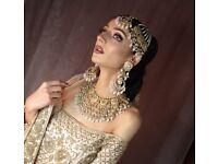 Asians bridal hair and make-up