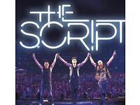 The script 2 tickets London 02
