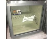 BUDWEISER table top fridge/drinks cooler £40 free delivery good condition