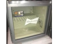 BUDWEISER table top fridge/drinks cooler £40 free delivery good conditionn