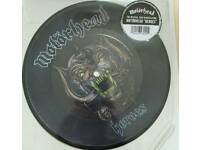 Motorhead, heroes, record store day vinyl picture disc