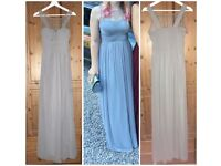 Grey Size 10 Prom/Bridesmaids Dress by Little Mistress