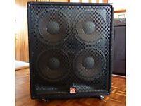PEAVEY 4X12 BASS GUITAR SPEAKER