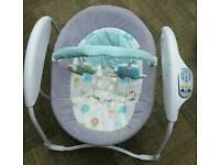 Graco baby gliding swing