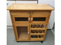 Kitchen movable island/trolley
