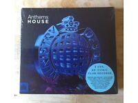 ANTHEMS HOUSE – 3 CDS - 60 ICONIC CLUB RECORDS (BRAND NEW IN SHRINKWRAP)