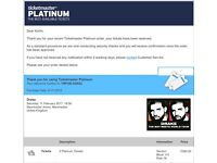 DRAKE TICKETS PLATINUM SEATS FOR SALE X2