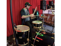 groovy drummer available for collaboration with professional band