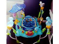 Disney Baby Finding Nemo Sea of Activities Baby Jumper
