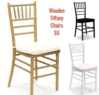 Tiffany chair hire - Original Chiavari chairs