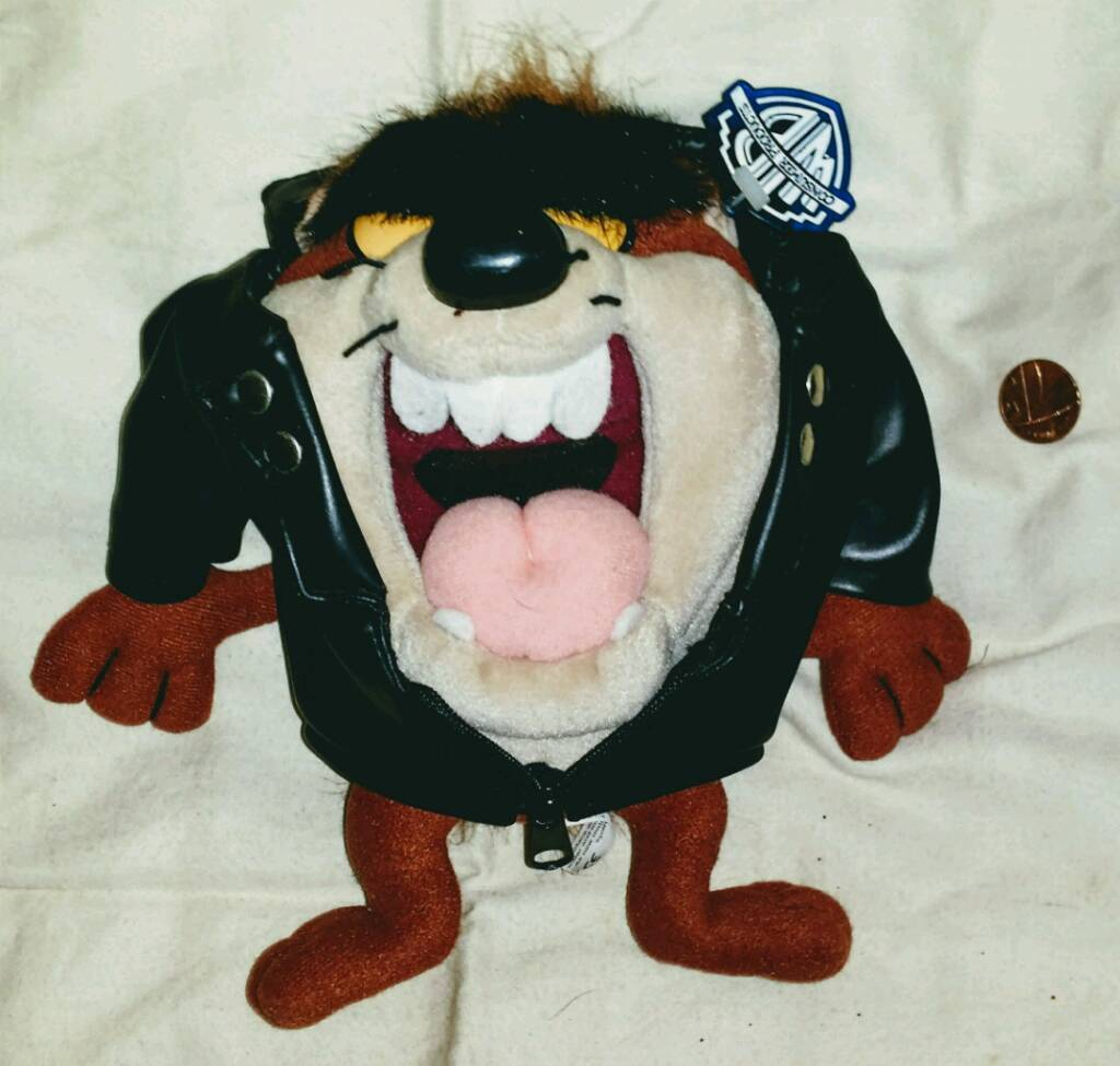 NEW TAZ PLUSH BY WARNER BROS WITH TAG. £20