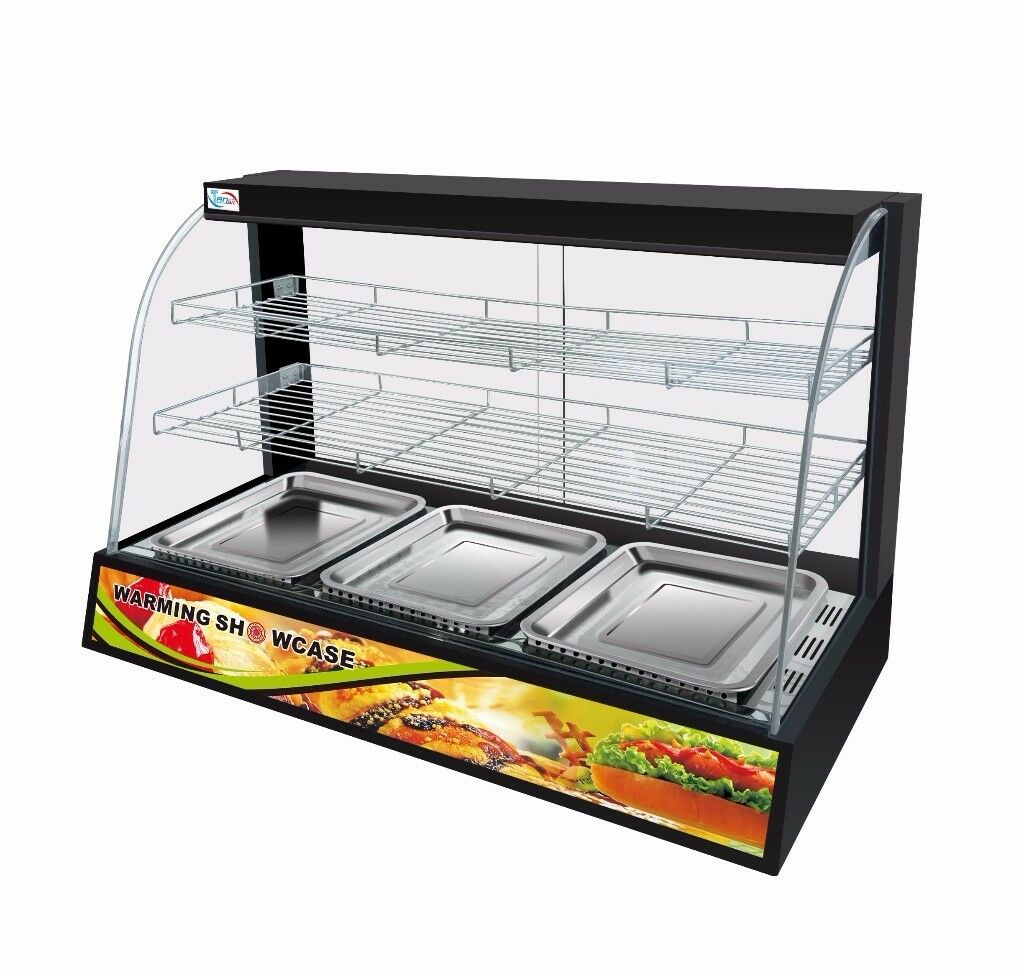 Electric Commercial Hot Food Chicken Warmer Display Cabinet ...