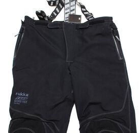 """NEW Rukka Argonaut Gore-tex Trouser's Euro 62 44""""/46"""" Waist C2 34"""" Leg"""