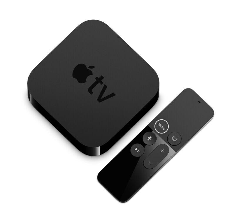 Apple TV 4K 64GB Black MP7P2LL/A