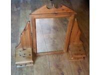 Pine Dressing Table Mirror