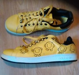 ADIDAS Yellow Stan Smith MR HAPPY Trainers