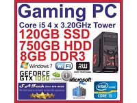 medium-high end Gaming Tower PC - Intel Core i5-650 4 x 3.20GHz only £545