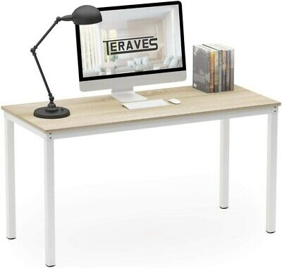 39.37 Computer Desk Home Office Desk Dining Table Sturdy Writing Workstation Us