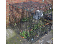 CUSTOM MADE DOG CAGE FOR VAUXHAUL ZAFIRA 2003/04 ONLY