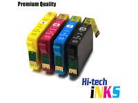 8x Epson Compatible Ink Cartridges