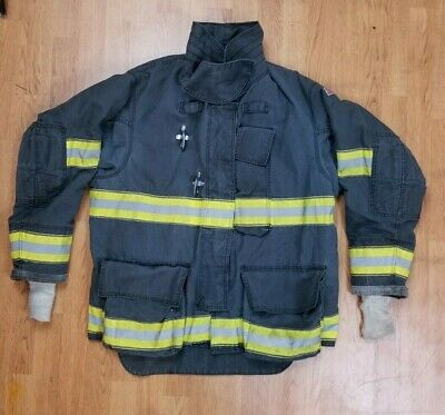 Black Globe Gxtreme 48 X 32 Bunker Jacket Turnout Jacket Firefighter
