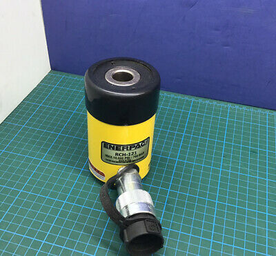 Enerpac Rch121 12 Ton Hydraulic Cylinder Single Acting Center Hole Hollow Nice
