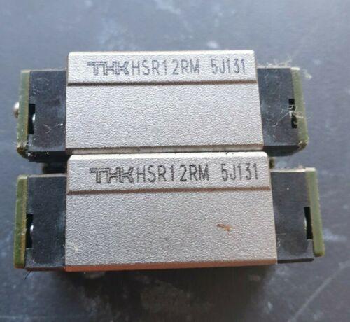 THK HSR12RM BEARING BLOCKS 2/PK (IN17s3)