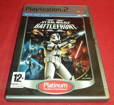 Star Wars: Battlefront 2 - Platinum Edition (Sony PlayStation 2) PS2