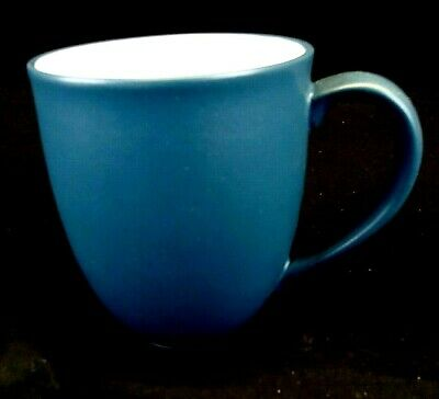 NORITAKE Colorwave Blue Fine Porcelain China, Coffee Mug, New Never Used