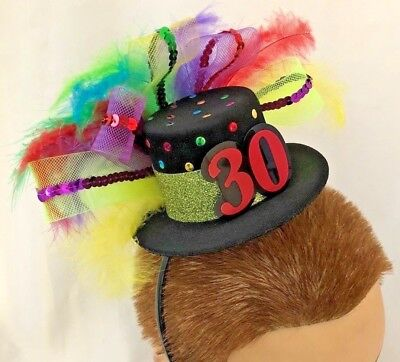 Multi Tiny Feather TOP HAT