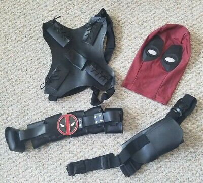 Marvel Deadpool Costume ~ ACCESSORIES ONLY ~ No Costume Youth Size M