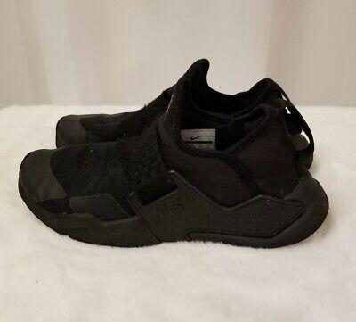Nike Huarache Black Slipe on Tennis Shoe Sneakers Size 4Y