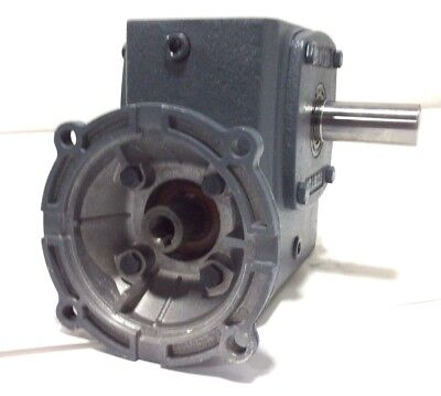 New Boston Gear Motor F724-60-zb-5g Speed Reducer Gearbox 601 Ratio