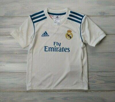 52943678f08 Real Madrid jersey kids 4-5 years 2018 home shirt soccer football Adidas