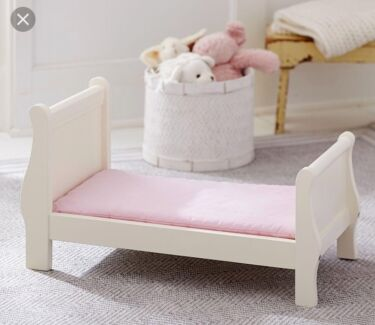 Pottery Barn Kids Doll Sleigh Bed