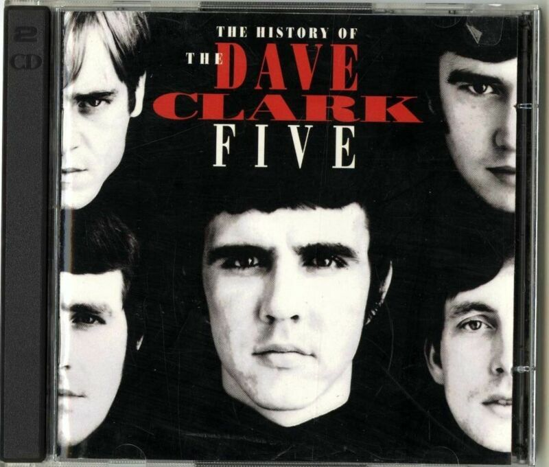 2 CD The Dave Clark Five - The History of the Dave Clark Five (Free Shipping)