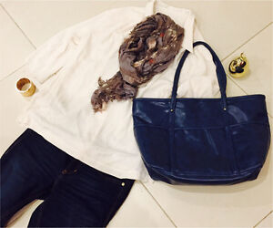 Navy colour everyday bag Arncliffe Rockdale Area Preview