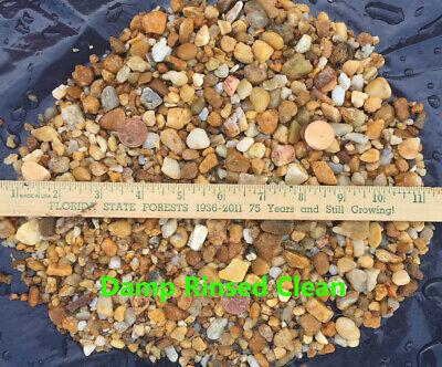 AQUARIUM PEBBLES ~ ALL Natural NO Chemicals Stones Gravel Substrate Fish BULK ~ (Aquarium Substrate)
