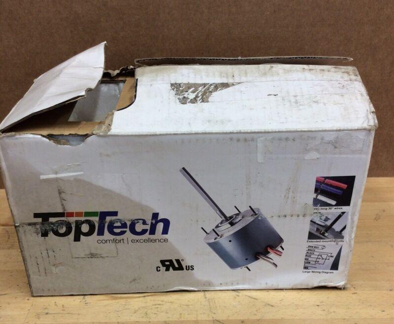 TOPTECH TT-C25-1SP2 Universal Condenser Fan Motor