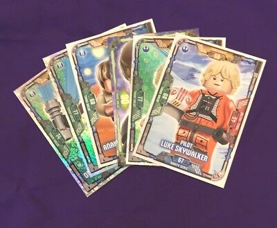 Lego Star Wars Cards SERIES 1 - Pick any 5 for £2.00 (or 10 or 15 etc...)