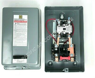 Air Compressor Magnetic Starter On Off Relay 5hp Single Phase 208-240 Volt
