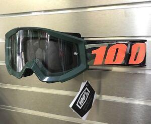 100% Motocross Offroad Strata MX Goggles Huntsitan Camo / Clear Lens