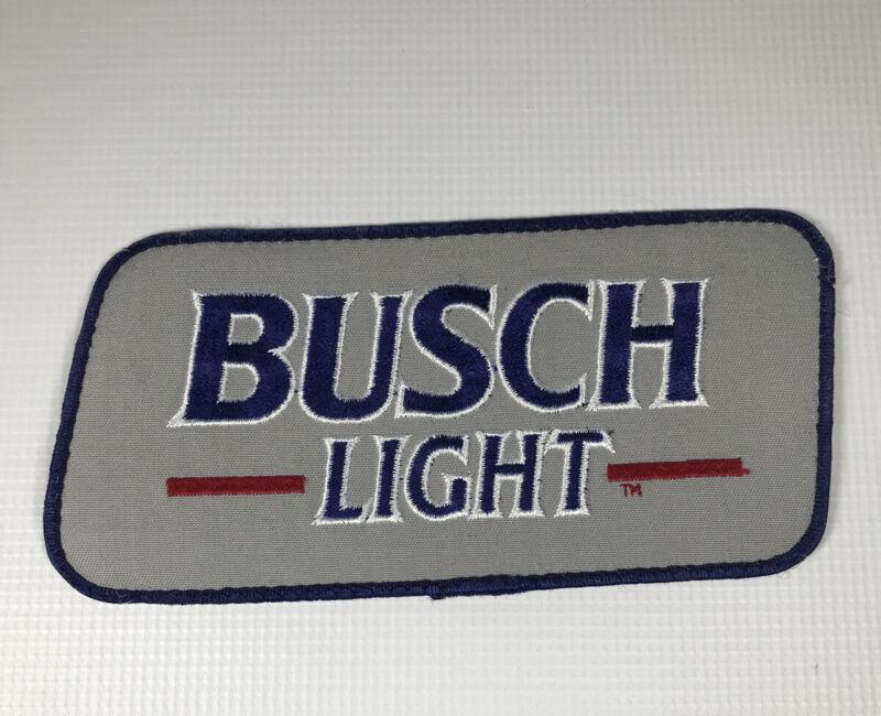 Vintage Large Busch Light Patch