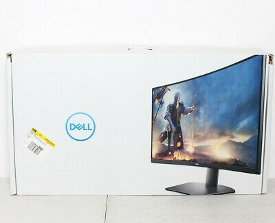 """Dell S3220DGF 32"""" LED Curved QHD FreeSync 165Hz Gaming Monitor HDR Openbox"""