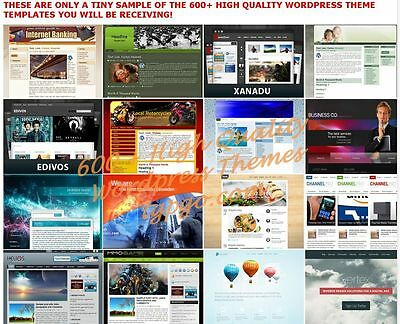 600 Premium Wordpress Themes Templates 900 Landing Pages