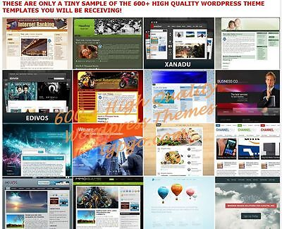 600  Premium Wordpress Themes Templates   900 Landing Pages   Cd