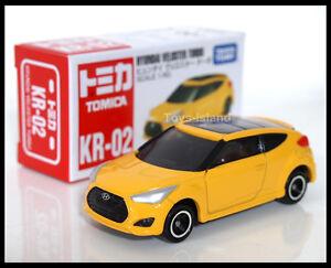 TOMICA KR-02 Hyundai Veloster Turbo 1/60 TOMY DIECAST CAR NEW Gift 2